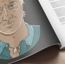 Andy Kusnetzoff. Un proyecto de Ilustración, Diseño gráfico y Tipografía de Matu Santamaria - 15-04-2015