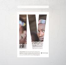 Cartel para IV Jornadas de Antropología Aplicada al Desarrollo y la Cooperación de la Universidad Complutense. A Design, Graphic Design&Information Architecture project by Muak Studio | Visual Communication Strategies  - 20-04-2015