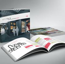 4º espacio, revista. Um projeto de Br, ing e Identidade, Design editorial e Design gráfico de Estudio Mique  - 06-04-2008