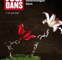 Julidans 2012. Um projeto de Design, Publicidade, Direção de arte e Design gráfico de Jose Llopis         - 27.07.2012