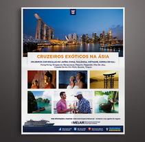 Publicidades para Melair Cruzeiros. Un proyecto de Dirección de arte, Diseño, Diseño gráfico y Gestión del diseño de Àngela Curto - Jueves, 01 de enero de 2015 00:00:00 +0100