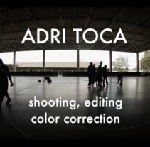 Adri Toca DemoReel 2015. Un proyecto de Post-producción de Adriana Toca         - 03.05.2015