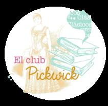 Logo Club Pickwick. Um projeto de Artes plásticas e Design gráfico de Almudena Cardeñoso         - 04.05.2015