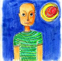 Retrato. A Illustration project by Javier F. Brito Arribas         - 08.07.2008