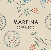 Martina. A Illustration, Events, Graphic Design, and Packaging project by Heroine Studio - 05-05-2015