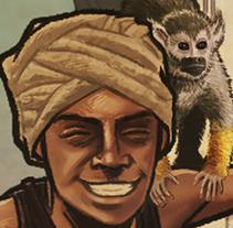 Arabian Adventures. A Illustration project by Óscar Luis Barriga Comendador         - 09.05.2015