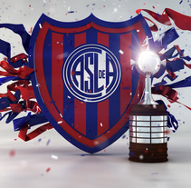 San Lorenzo Libertadores. A 3D, Art Direction, and Graphic Design project by Gaston Charles         - 14.05.2015