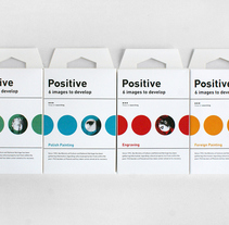 Positive. A Art Direction, Br, ing, Identit, Graphic Design, Interactive Design, and Packaging project by Zupagrafika  - 18-01-2015