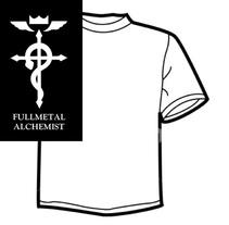 Diseño de Camisetas - Full Metal Alchemist. Um projeto de Design gráfico e Serigrafia de Mireya Capitaine         - 15.05.2015