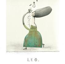 Yo leo, punto. Un proyecto de Ilustración de Evangelina Prieto         - 24.05.2015
