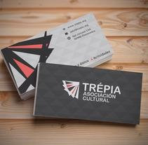 Web  Asociación Cultural Trepia. A UI / UX, Br, ing, Identit, and Web Development project by Diego Pintos         - 25.05.2015