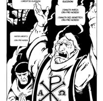 """Páginas 3, 4 y 5 del cómic """"La Tradición"""" para el libro """"De sirenas, dragones y fantasmas"""" (Eds. Aristas Martínez y El Verano del Cohete). Un proyecto de Comic de Alberto Peral Alcón         - 27.05.2015"""