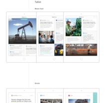 app | tenaris today. Un proyecto de UI / UX, Diseño gráfico, Arquitectura de la información y Diseño interactivo de Lucrecia Julia Rapetti Rodrigo         - 28.05.2015