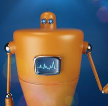 Robotboy. Um projeto de 3D e Design de personagens de Eliana Orozco Jaramillo         - 28.05.2015