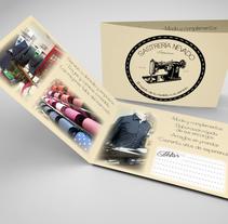 Tarjetas de visita. Um projeto de Design de Irene Ramírez Ruiz         - 02.06.2015