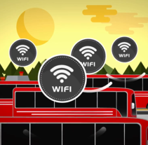 Router Smart Transport Vodafone - Huawei. A Animation project by desi garrido         - 02.06.2015