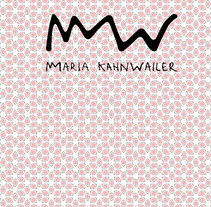 MARIA KHANWAILER. A Br, ing, Identit, and Graphic Design project by Victoria Soto Santos         - 03.06.2015