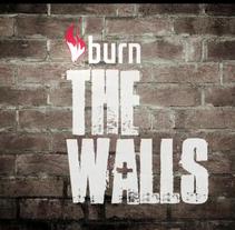 """Cabecera y rótulos para el documental """"Burn the walls"""". A Motion Graphics project by Candida Bevilacqua         - 04.06.2015"""