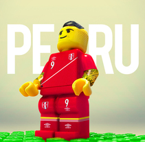 Perú Selección Lego. A Art Direction project by Christian Alberto Rivera Rojas - 12-06-2015