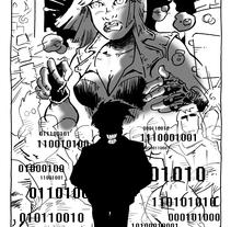 Ilustración para El Mundo es Atroz (fanzine de Ciencia-Ficción). Um projeto de Ilustração de Alberto Peral Alcón - 15-06-2015