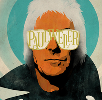 Cartel Paul Weller. A Design, Illustration, Music, and Audio project by Oscar Giménez - 21-06-2015