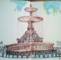 Urban Sketching. Un proyecto de Ilustración y Bellas Artes de Beatriz Galiot - 08-05-2015