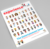 Apex Experience Vol. 5 - Edition 4 Cover. A Editorial Design&Illustration project by Ricardo Polo López - 06.29.2015
