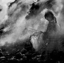 La montaña de humo. A Photograph project by Jesús G. Pastor - 28.06.2015