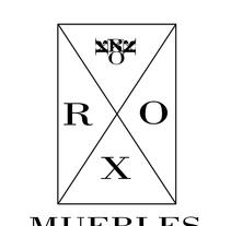 Logo RXO Muebles de decoración. A Furniture Design project by Luis Enrique De Orta Esparza         - 29.06.2015