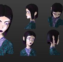 Mi Proyecto del curso Modelado de personajes en 3D. A 3D project by Julian Rivas         - 29.06.2015