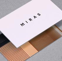 MIRAS EDITIONS. Um projeto de Br, ing e Identidade e Design gráfico de Manuel Martin         - 01.07.2015