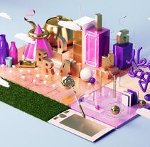 Mantra Neo/saga. A 3D, Br, ing, Identit, Art Direction&Illustration project by Neo/saga - Clube de criação & branding neosaga  - Jul 02 2015 12:00 AM