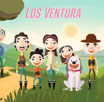 La familia Ventura. Un proyecto de Ilustración y Diseño de personajes de Shirley Mejía         - 05.07.2015