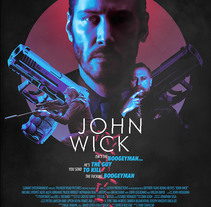 John Wick. A Illustration, and Film project by Laura Racero         - 08.02.2015