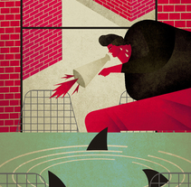 THE WALL. A Illustration project by Jesús Sotés Vicente - Jul 11 2015 12:00 AM