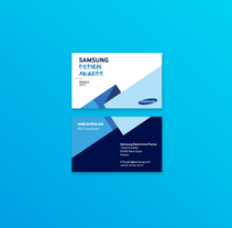Samsung Design Awards. France 2013. A Br, ing, Identit, Graphic Design, Packaging, T, and pograph project by Fran Méndez - 11.20.2013