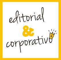 Editorial y corporativo. A Editorial Design project by Eva Reina - Jul 14 2015 12:00 AM