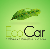 EcoCar. A Graphic Design project by Jordi Alcoba Larroya         - 20.07.2015