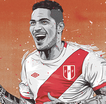 Cracks Copa América. A Illustration, Art Direction, and Graphic Design project by Fer Taboada         - 21.07.2015