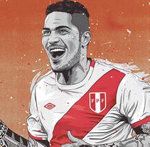 Cracks Copa América. Un proyecto de Ilustración, Dirección de arte y Diseño gráfico de Fer Taboada - 21-07-2015