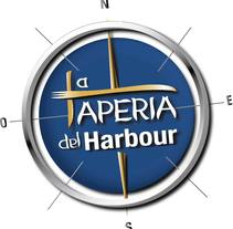 Isologotipo - La Tapería del Harbour. Un proyecto de Diseño, Br e ing e Identidad de Erica Tourís Fresco - 26-07-2015