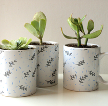 Estampado en cerámica / Pattern on ceramics. A Illustration, and Crafts project by Sara pdf         - 28.02.2015