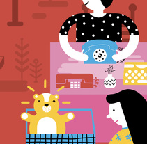 Cartel para Flea Market - Porto. Un proyecto de Ilustración y Diseño gráfico de ana seixas         - 14.01.2015