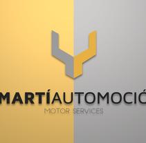 Martí Automoció. Um projeto de Br, ing e Identidade e Design gráfico de Jordi Alcoba Larroya         - 11.08.2015