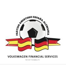 Logo para Partido VWFS Eapaña - Alemania. Un proyecto de Diseño, Eventos y Diseño gráfico de Fernando Rodríguez López de Haro         - 11.08.2015