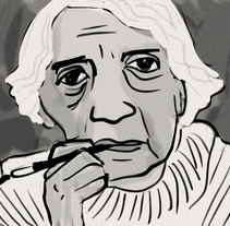 Retratos de escritores. Un proyecto de Ilustración y Bellas Artes de Zoraida de Torres - 31-12-2011