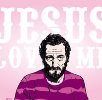 Jesus Love. A Illustration project by rosco - 04-02-2010