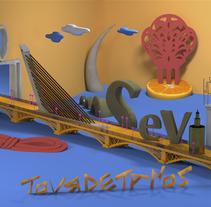 Sevilla. A 3D project by Carmen Aldomar         - 16.08.2015