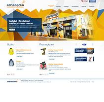 echebarriasuministros.com. A Web Development, Design, Interactive Design, and Web Design project by Eloy Ortega Gatón - Aug 24 2015 12:00 AM