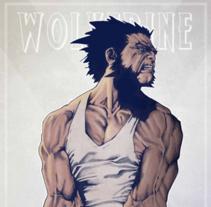 Wolverine. A Illustration project by Leonardo Hernandez - 26-08-2015